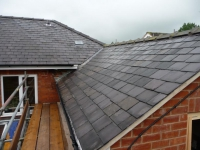 Completed roofline