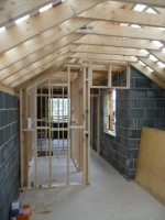 Creating vaulted ceiling